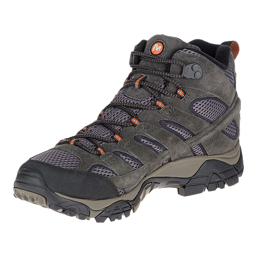 b200a0de085 Merrell Men's Moab 2 Mid Waterproof Hiking Boots - Beluga