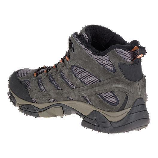 Merrell Mens Moab 2 Mid Waterproof Hiking Shoe