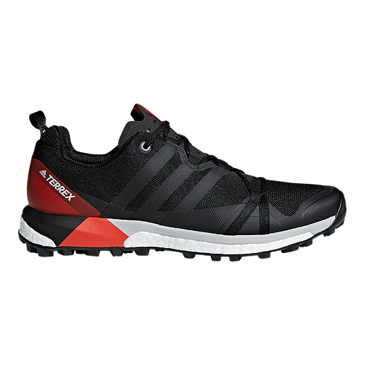 81fbbba14 adidas Men s Terrex Agravic Hiking Shoes - Black Carbon Red ...