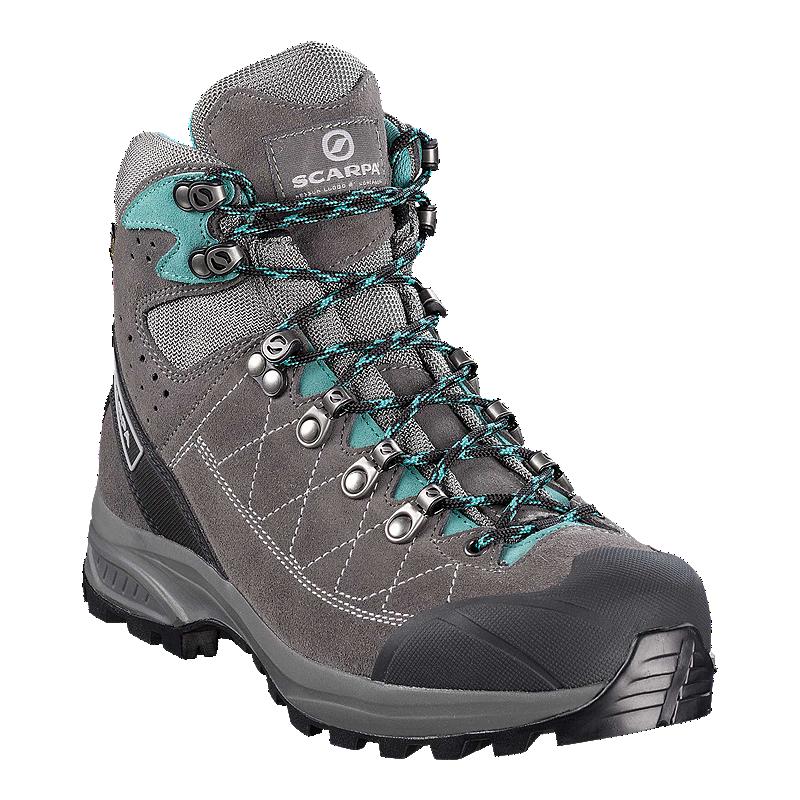 802ca5e3b76 Scarpa Women s Kailash Trek Gore-Tex Hiking Boots - Grey Blue ...