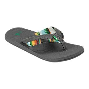 Sanuk Men's Beer Cozy Light Funk Sandals - Charcoal