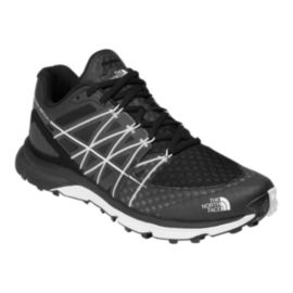 The North Face Men's Ultra Vertical Trail Running Shoes - Black/White