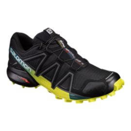 4 Speedcross Running Trail Shoes Salomon Men's Blackgreenblue HOEqpp