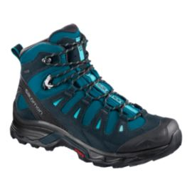 Salomon Women's Quest Prime Gore-Tex Hiking Shoes - Deep Lagoon/Blue