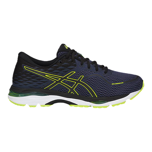 a6feee6a ASICS Men's Gel Cumulus 19 Running Shoes - Blue/Black/Yellow
