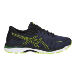 ASICS Men's Gel Cumulus 19 Running Shoes - Blue/Black/Yellow