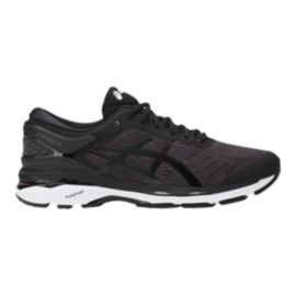 ASICS Men's Gel Kayano 24 Running Shoes - Black/White
