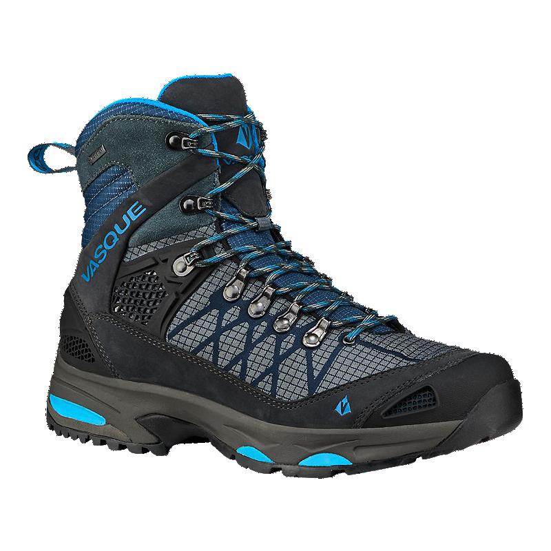 Vasque Women s Saga Gore-Tex Hiking Boots - Slate Blue  8697c61f54