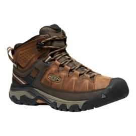 Keen Men's Targhee III Mid Waterproof Hiking Boots - Big Ben/Golden Brown