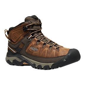 83144960dc Keen Men s Targhee III Mid Waterproof Hiking Boots - Big Ben Golden Brown