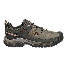 56a1c534ce23 Keen Men s Targhee III Leather Waterproof Hiking Shoes - Black Olive Brown