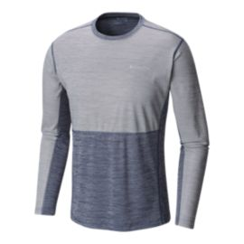 Columbia Men's Solar Chill Long Sleeve Shirt - Carbon