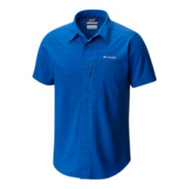 Columbia Men's Cypress Ridge Short Sleeve Shirt - Azul Blue