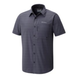 Columbia Men's Cypress Ridge Short Sleeve Shirt - Shark Grey