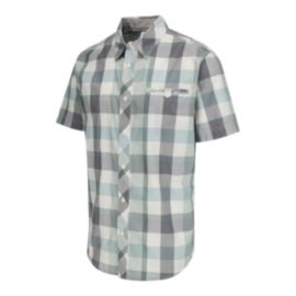 McKINLEY Men's Plast Short Sleeve Shirt - Blue Surf