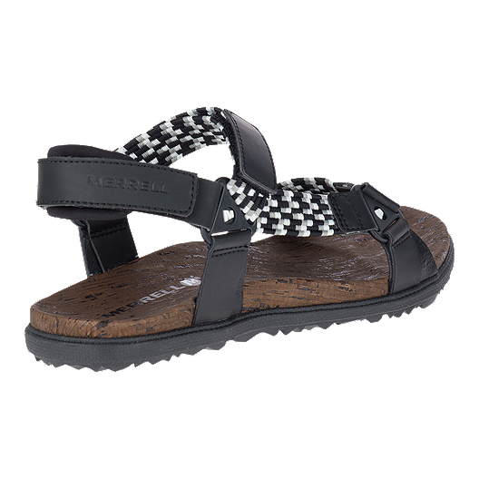 226594b01 Merrell Women s Around Town Sunvue Woven Sandals - Black. (0). View  Description