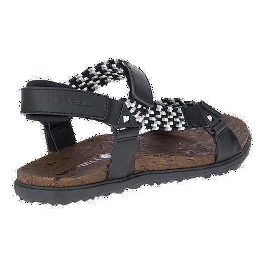 c6972f1fc9d57 Merrell Women s Around Town Sunvue Woven Sandals - Black. (0). View  Description