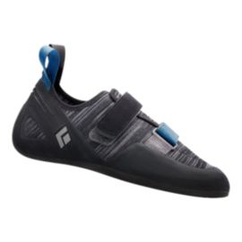 Black Diamond Momentum Velcro Climbing Shoes - Ash Grey
