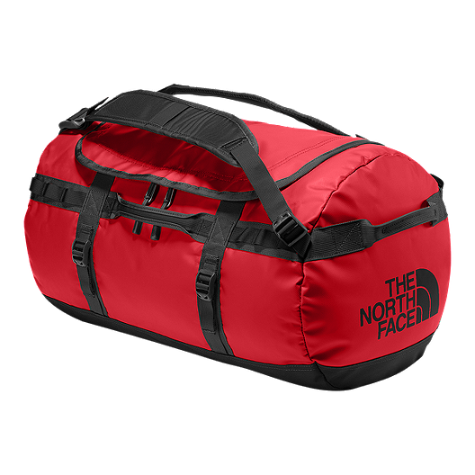25b91b2535 The North Face Base Camp 50L Small Duffel Bag - TNF Red/TNF Black |  Atmosphere.ca