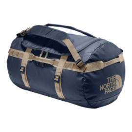The North Face Base Camp 50L Small Duffel Bag - Urban Navy/Crockery Beige