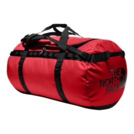 The North Face Base Camp 135L X-Large Duffel Bag - TNF Red/TNF Black