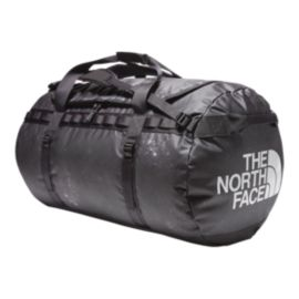 The North Face Base Camp 135L X-Large Duffel Bag - TNF Black Weathered Chalk Print