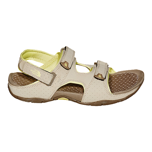 4358109e7 The North Face Women's El Rio II Sandals - Grey/Yellow