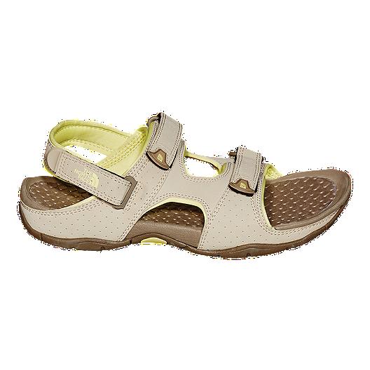 7bc3fd7ac The North Face Women's El Rio II Sandals - Grey/Yellow