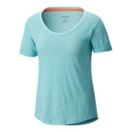 Columbia Women's Sandy River T Shirt - Iceberg Mimosa Burnout