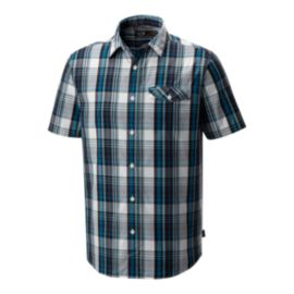 Mountain Hardwear Men's Farthing Short Sleeve Shirt - Lakeshore Blue