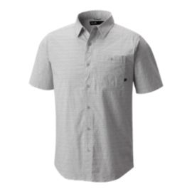 Mountain Hardwear Men's Franz Short Sleeve Shirt - Fogbank