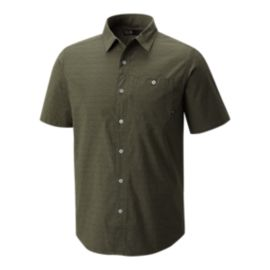 Mountain Hardwear Men's Franz Short Sleeve Shirt - Surplus Green