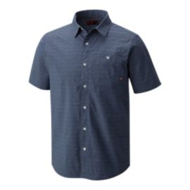 Mountain Hardwear Men's Franz Short Sleeve Shirt - Zinc