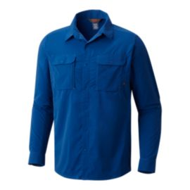 Mountain Hardwear Men's Canyon Pro Long Sleeve Shirt - Nightfall
