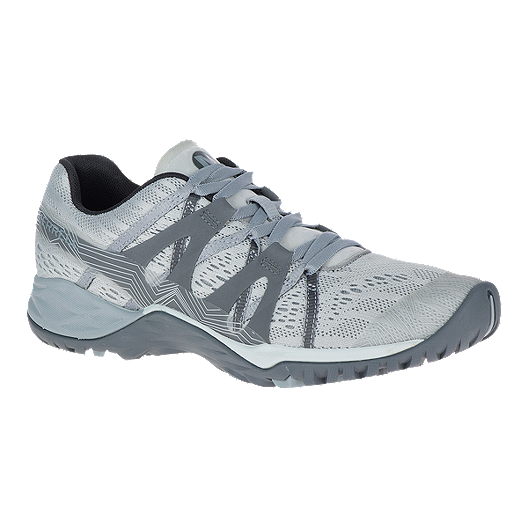 Merrell Women's Siren Hex Q2 E Mesh Hiking Shoes Highrise Grey