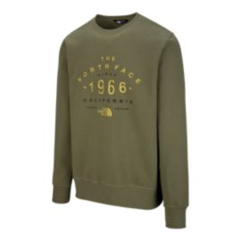 The North Face Men's 66 Classic Crew Sweater - Burnt Olive