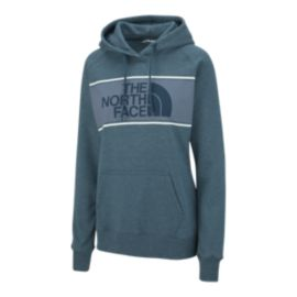 The North Face Women's Edge To Edge Pullover Hoodie - Blue Coral Heather