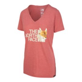 The North Face Women's Have You Herd Tri-Blend T Shirt - Red