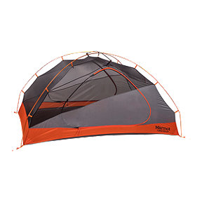 Marmot Tungsten 2 Person Tent with Footprint - Blaze / Steel