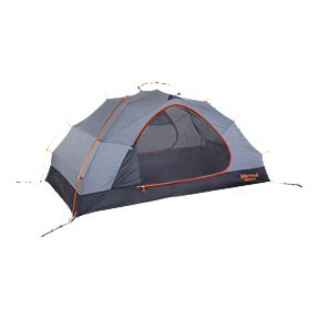 Marmot Fortress 2 Person Tent - Tangelo   Grey Storm f0731a7d01