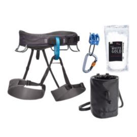 Black Diamond Men's Momentum Harness Package - Grey