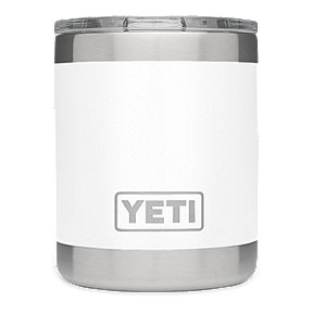 YETI Rambler 10 oz Lowball with Lid - White