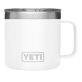 YETI Rambler 14 oz Mug with Lid - White