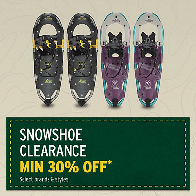 Select Snowshoe Clearance Minimum 30% Off*