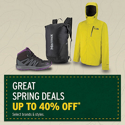 Great Spring Deals up to 40% Off*