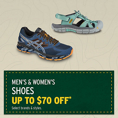 Select Shoes up to $70 Off*