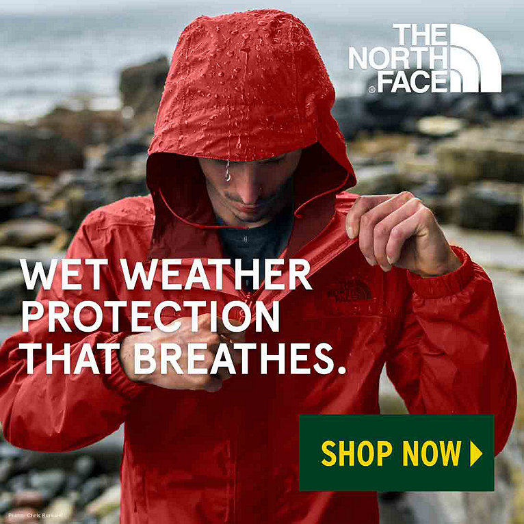 The North Face Waterproof Rain Jackets