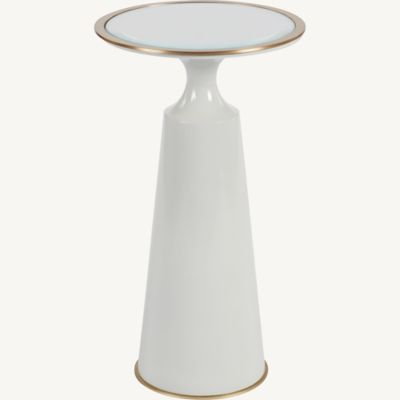 Viridine Round Accent Table