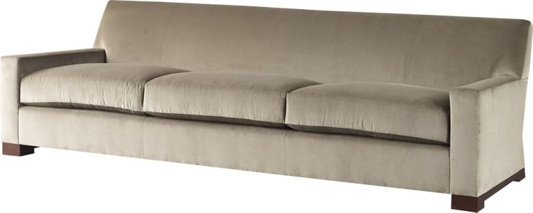 Wedge Sofa By Thomas Pheasant 6843s Baker Furniture