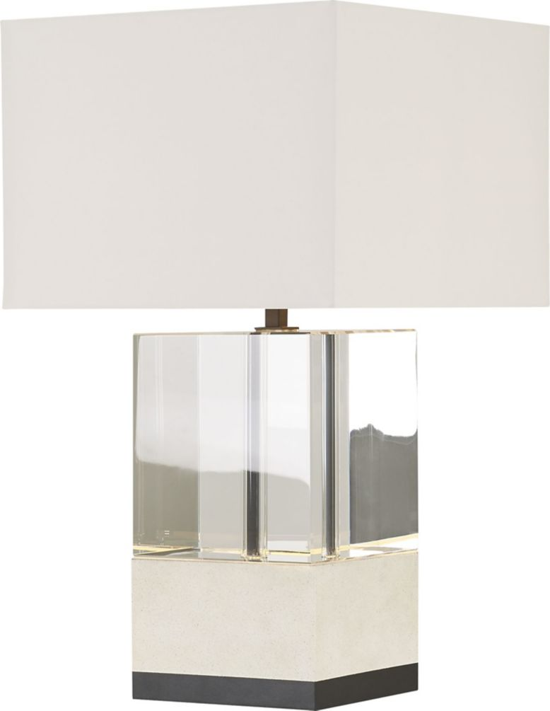 Glacier Table Lamp By Darryl Carter Dc110 Baker Furniture